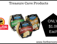 Treasure Cave Cheese Products JUST $1.00 Each Thru 7/20!