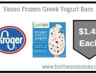 Yasso Yogurt Bars ONLY $1.49 {Reg $5.49}