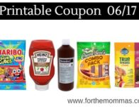 Newest Printable Coupons 06/17: Save On Haribo, Heinz, Betadine & More