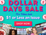 DiscountMags: The All Issues $1 or Less July 19 Sale