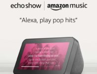 Echo Show 5 – Charcoal + Amazon Music Unlimited ONLY $49.99 (Reg $138)