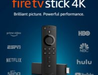 Fire TV Stick 4K with Alexa Voice Remote, streaming media player (Includes $45 Sling TV Credit) $24.99