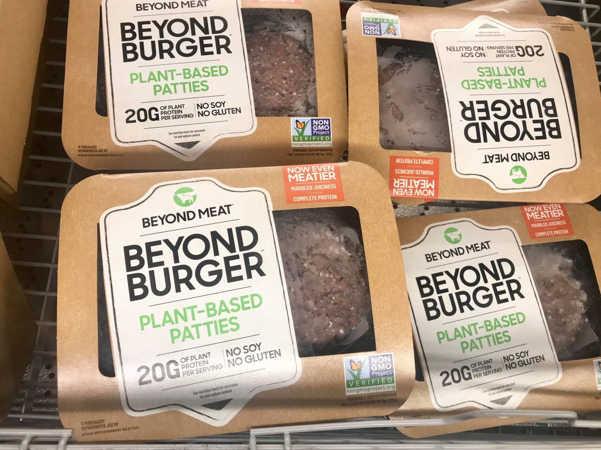Aldi: Beyond Meat Plant Based Burgers Just $4.50 Each Thru 7/27!