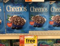 Blueberry Cheerios Cereal ONLY $0.65 Each! {Last Day}
