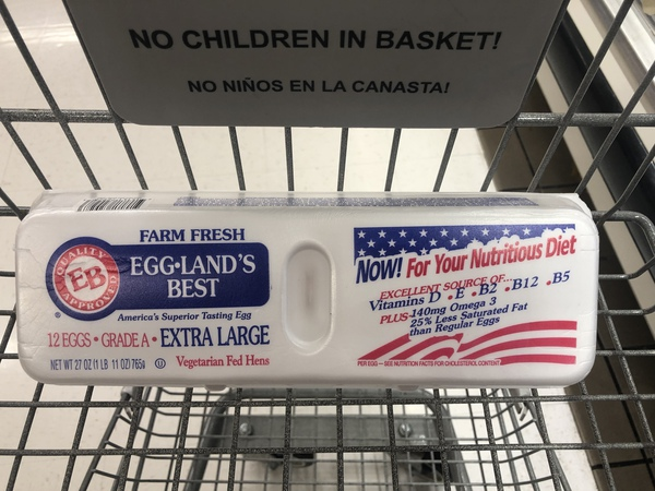 Giant: Eggland's Best Extra Large Eggs Just $1.50 Each Starting 7/12!