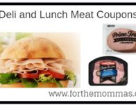Deli and Lunch Meat Coupons: Kentucky, Smithfield, Land O'Frost and More