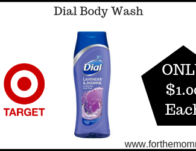 Dial Body Wash ONLY $1 Each