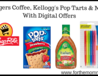 Deals Folgers Coffee, Kellogg's Pop Tarts & More With Digital Offers! {Last Day}