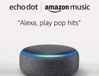 Prime Deal – 6 months free of Amazon Music Unlimited with an Echo Dot 3rd Generation Purchase