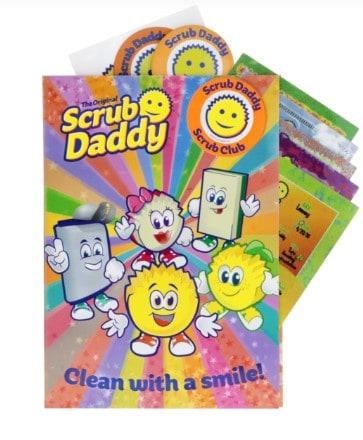 Free Scrub Club Sticker Book