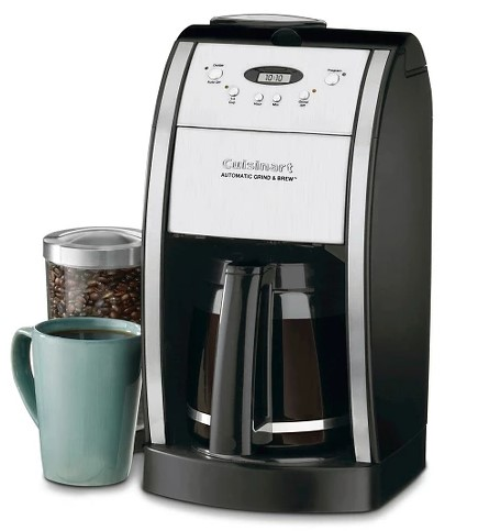 Target: Cuisinart® Grind & Brew 12 Cup Automatic Coffee Maker $46.80 {Reg $72}