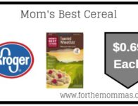 Mom's Best Cereal ONLY $0.69 (Reg $2.99)