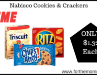 Nabisco Cookies & Crackers Just $1.32 Each Today ONLY!