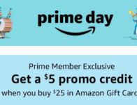 Buy $25 or More in Amazon Gift Cards, get a $5 Promo Credit