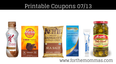 photograph regarding Metamucil Coupons Printable named Most up-to-date Printable Discount coupons 07/13: Help you save Upon Kelloggs, Metamucil