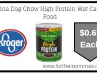 Purina Dog Chow High Protein Wet Canned Food ONLY $0.67 {Reg $1.19}