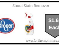 Shout Stain Remover ONLY $1.69 (Reg $3.29)