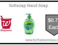 Walgreens: Softsoap Hand Soap ONLY $0.75 Each Starting 7/21