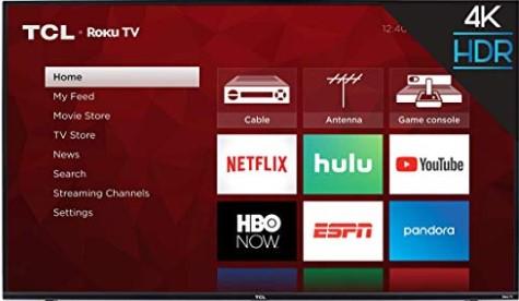 TCL 4-Series 4K HDR Roku TV (43S425) $219 (Reg $329.99)