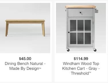 Target: 50% Off Kitchen & Dining, Patio Sets, Tables & Desks ...