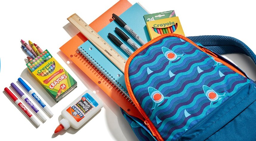 Staples: 20% off School Supplies with Backpacks
