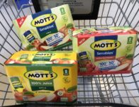 Giant: Mott's Juice Products ONLY $0.78 Each Starting 8/23!