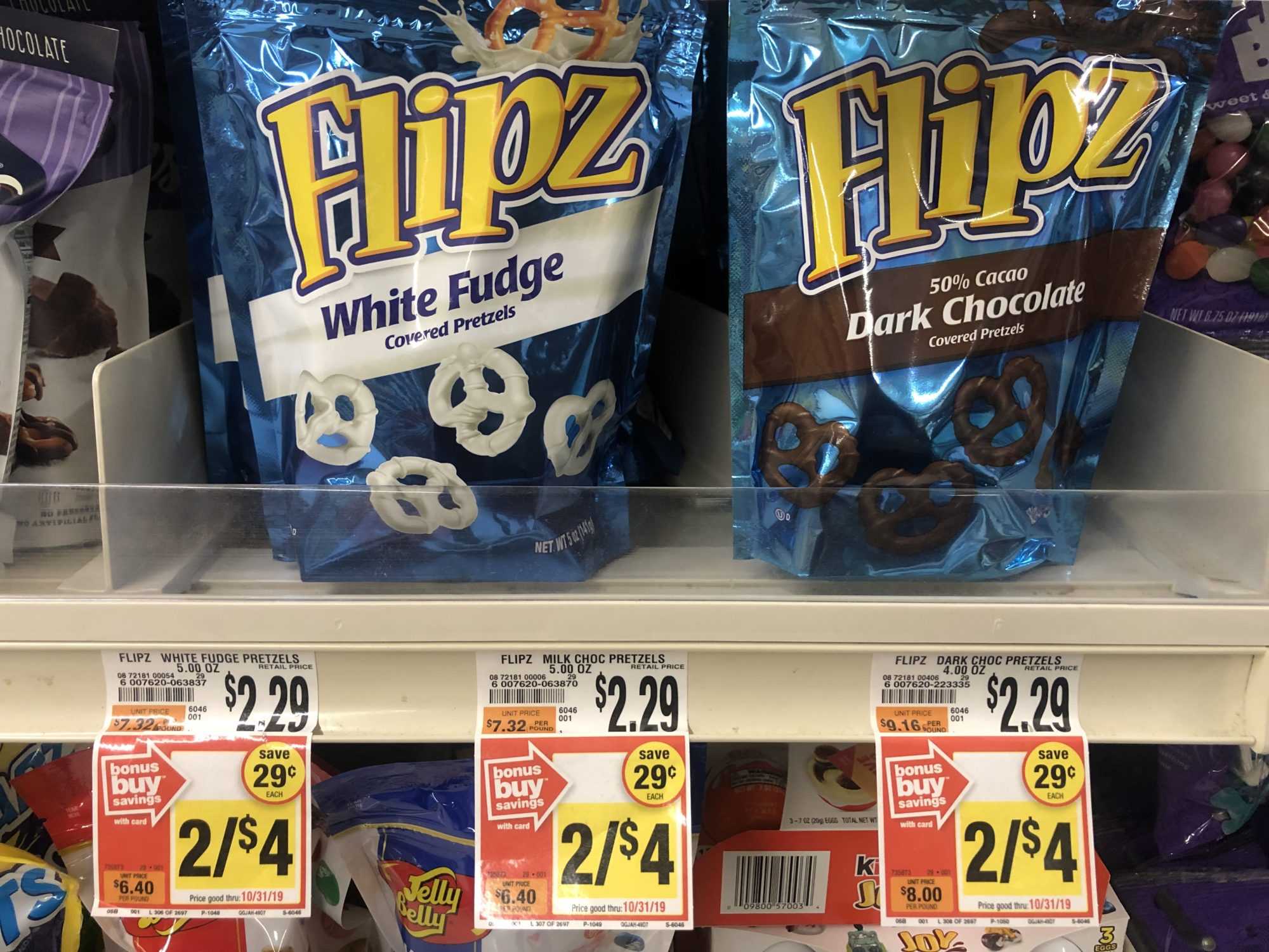 Giant: Flipz Chocolate Covered Pretzels Just $1.25 Each Starting 8/16!