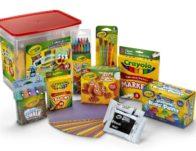 90-Piece Crayola Colossal Arts & Crafts Creativity Tub ONLY $14.70 (Reg $19.88)