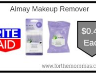 Almay Makeup Remover As Low As $0.43 Each Starting 8/25