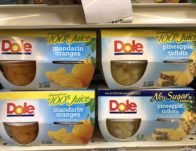 Giant: Dole Fruit Cups 4 Packs JUST $1.00 Each Thru 8/29!