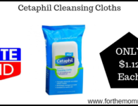 Cetaphil Cleansing Cloths ONLY $1.12 Each Starting 8/25