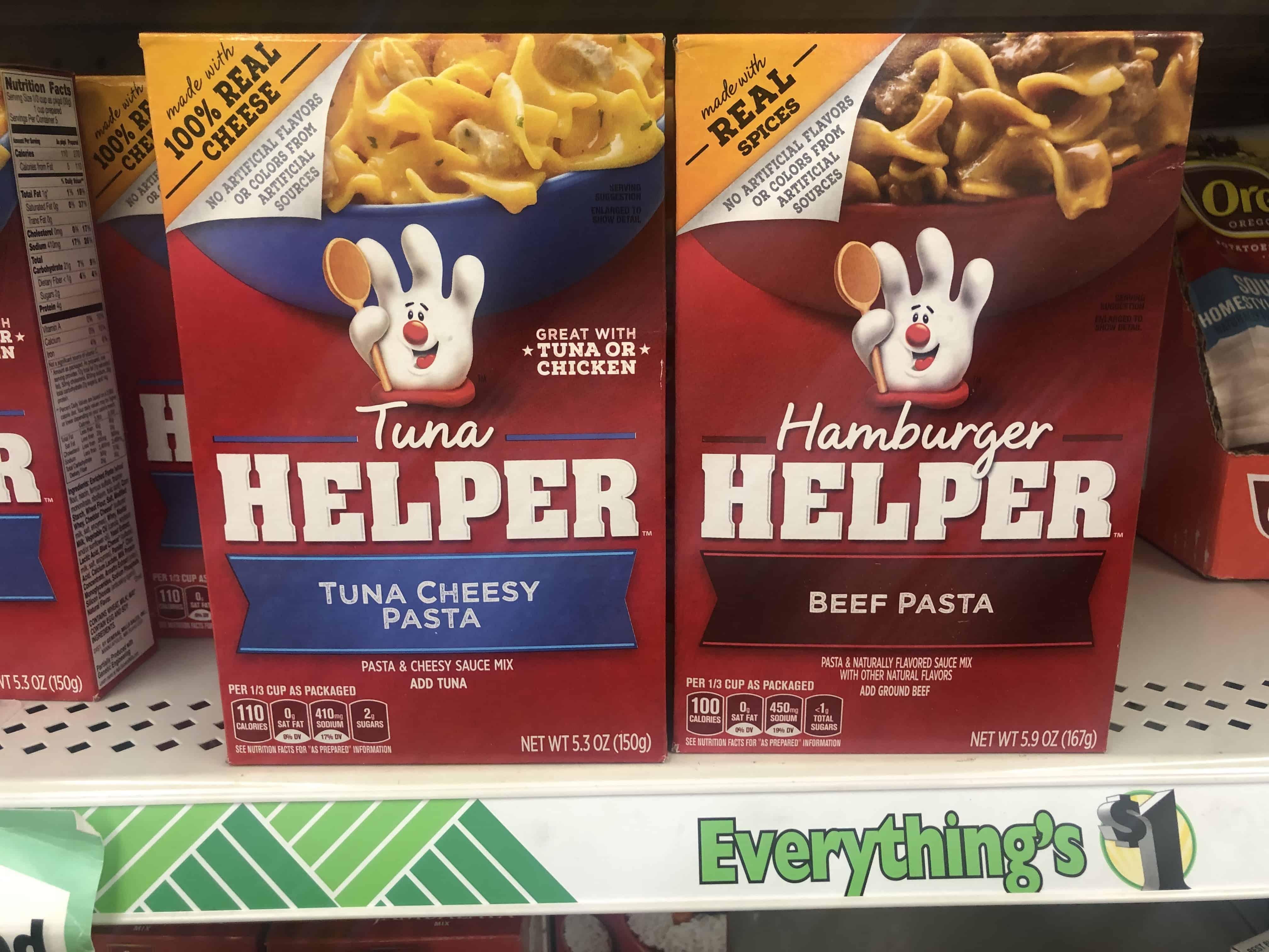 Dollar Tree: Hamburger Helper Products JUST $0.75 Each Thru 8/31!