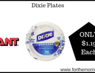 Dixie Plates ONLY $1.19 Each Starting 8/23!