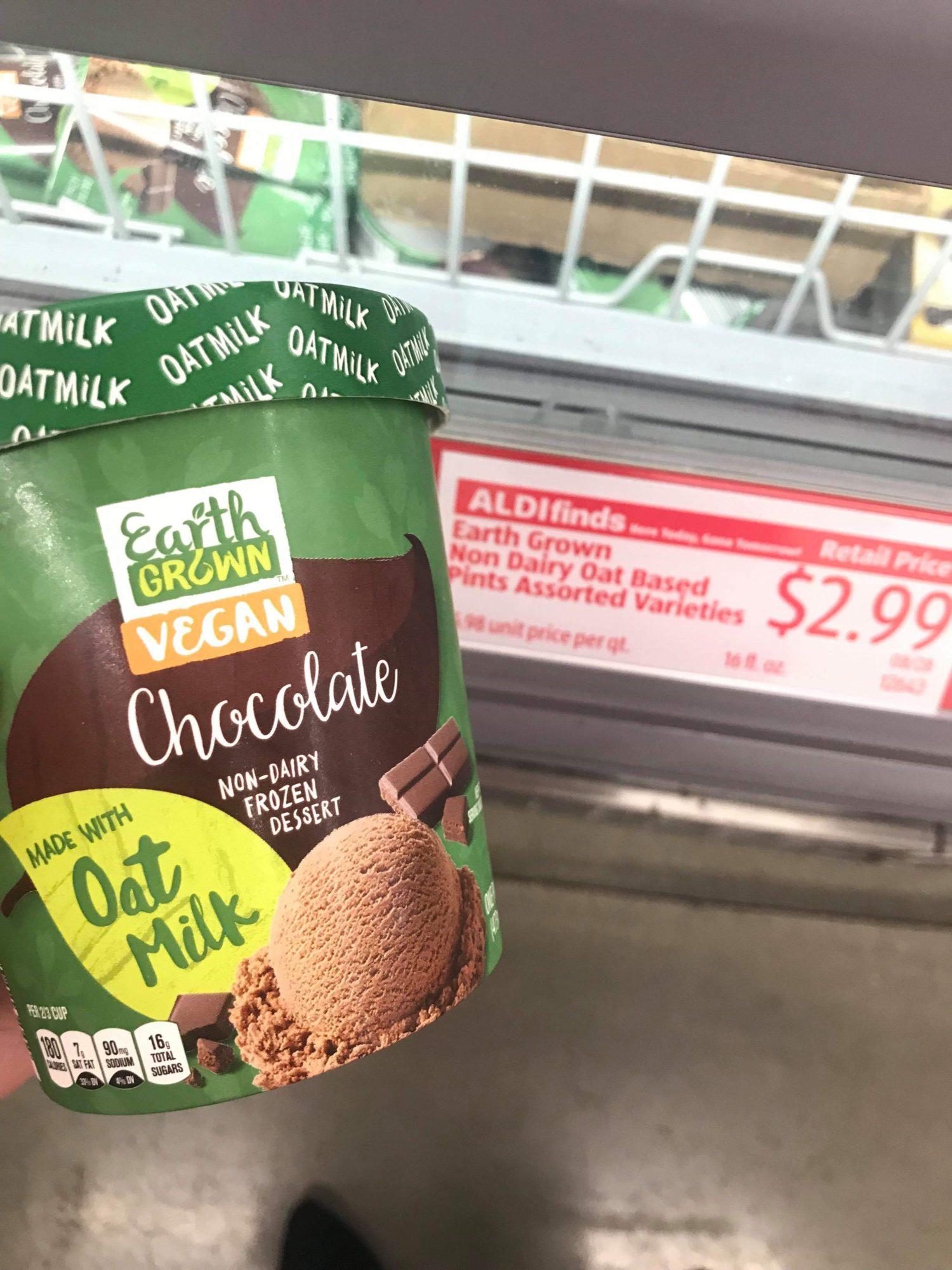 Aldi: Earth Grown Vegan Frozen Dessert Just $2.99 Each Thru 8/31!