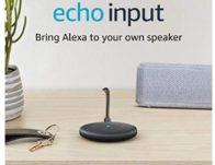 Echo Input $19.99 Shipped (Reg. $35)