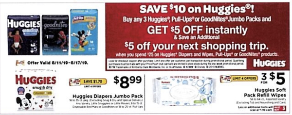 ShopRite: Huggies Diapers & Pull-Ups ONLY $2 99 Each