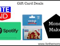 Moneymaker Gift Card Deal Starting 8/25
