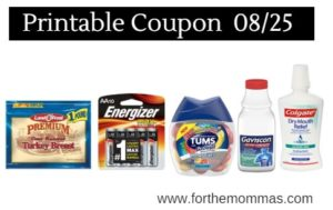 picture regarding Zyrtec Coupon Printable titled Printable Coupon Roundup 08/25: Conserve Upon Land OFrost, Zyrtec