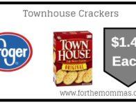 Kroger Mega Sale: Townhouse Crackers ONLY $1.49 {Reg $2.99}