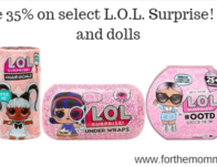 Save 35% on select L.O.L. Surprise! toys and dolls