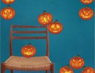 Halloween Pumpkin Decal Set of 10 ONLY $9.99