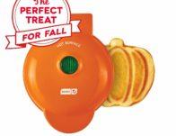 Dash Mini Pumpkin Waffle Maker ONLY $9.99 (Reg. $15)