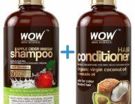 WOW Apple Cider Vinegar Shampoo & Hair Conditioner Set ONLY $19.90 (Reg $35)