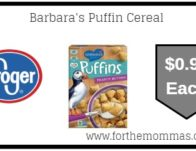 Barbara's Puffin Cereal ONLY $0.99 {Reg $2.99}