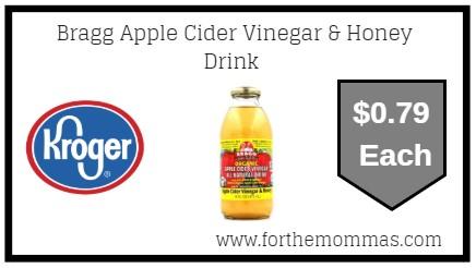 Kroger: Bragg Apple Cider Vinegar & Honey Drink ONLY $0.79