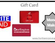 Gift Card Moneymaker Starting 9/15