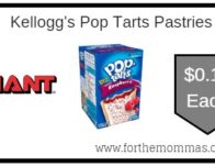 Kellogg's Pop Tarts Pastries ONLY $0.16 Each Starting 9/13!