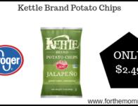 Kettle Brand Potato Chips ONLY $2.49 {Reg $3.99}