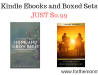 Kindle Ebooks and Boxed Sets JUST $0.99