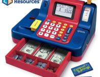 Learning Resources Pretend & Play Teaching Cash Register $30.03 {Reg $55}